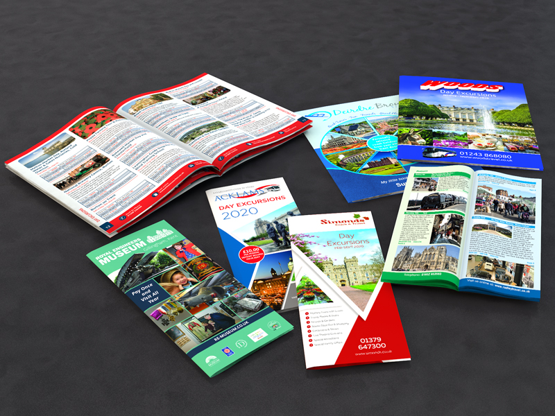 A5 & DL Day Excursion Brochures