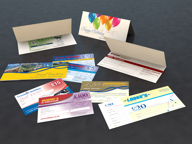 Gift Vouchers & Voucher Cards