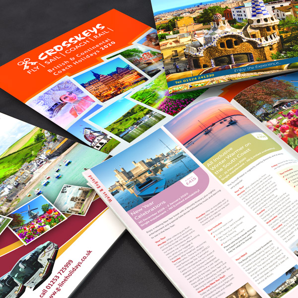 A4 Holiday Brochures